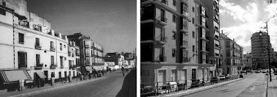 Málaga: Pasillo de Santa Isabel 1940-2011