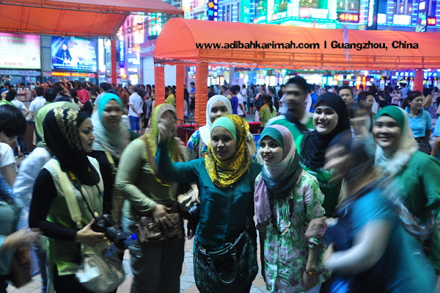 Sneak Preview free holiday to Guangzhou for premium beuatiful top agent from green leaders group at night market