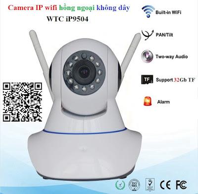 Nhà Phân Phối  Camera ip Wifi hồng ngoại không dây