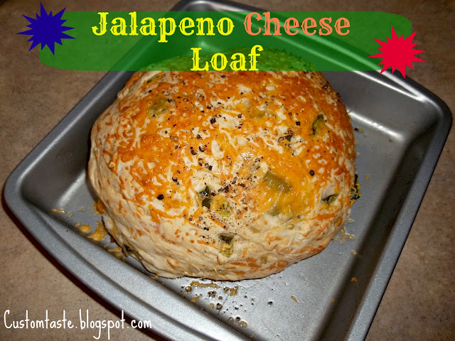 Jalapeno Cheese Loaf by Custom Taste