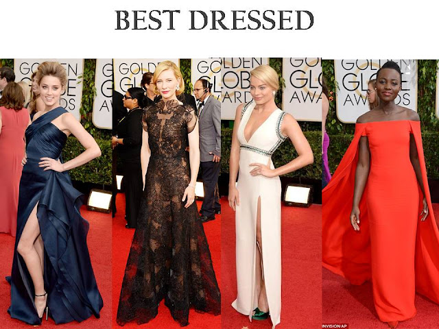 2014: Golden Globes BEST Dressed & More