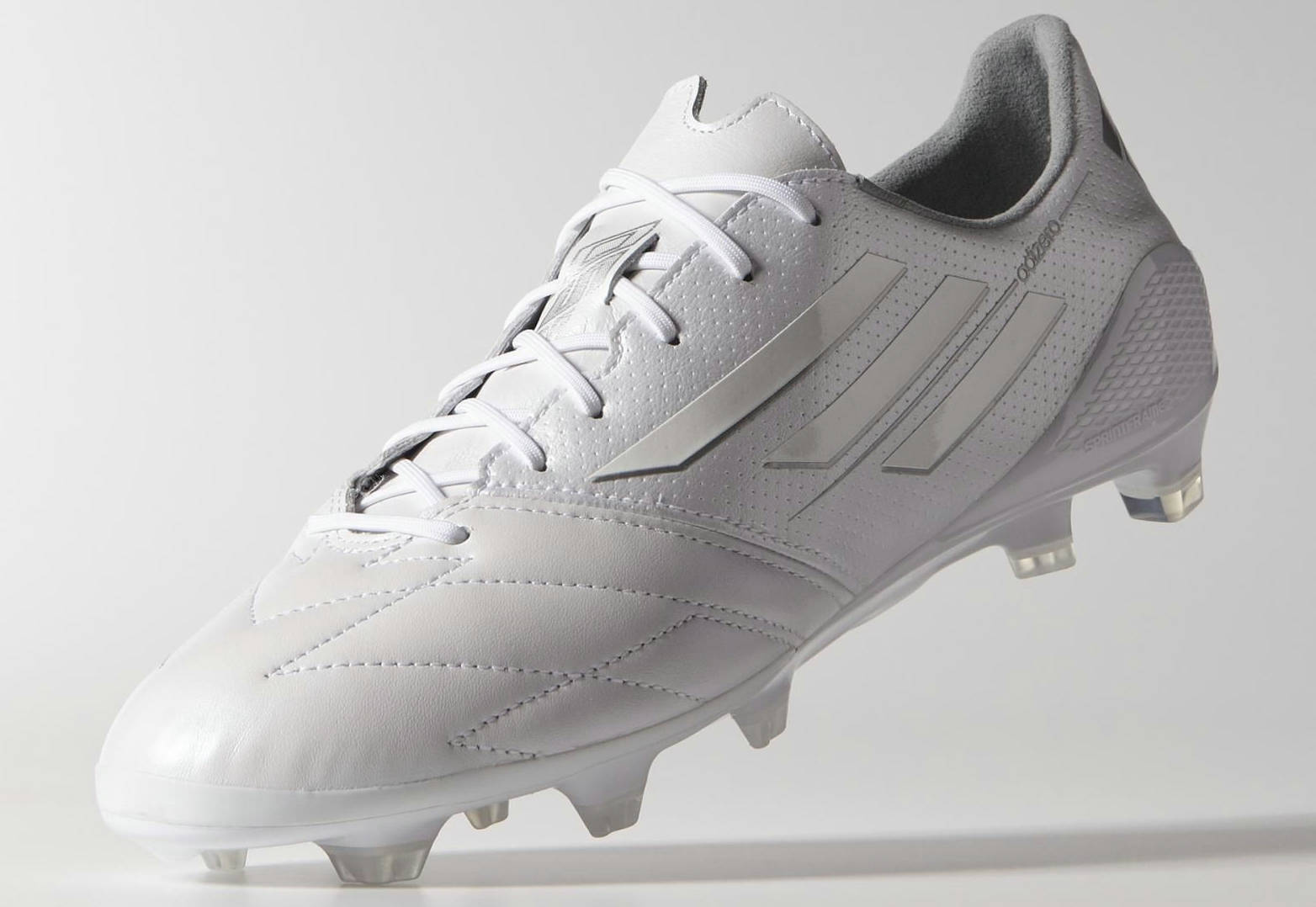 whiteout adidas adizero f50 2014 leather boot released. Black Bedroom Furniture Sets. Home Design Ideas