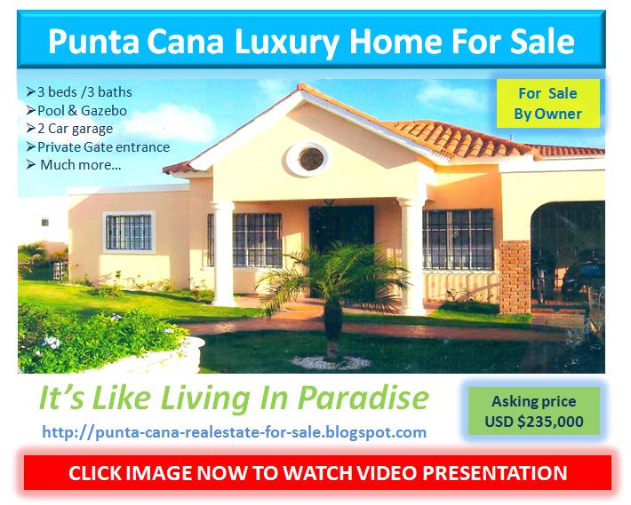 Bavaro, Punta Cana Luxury Home Villa For Sale