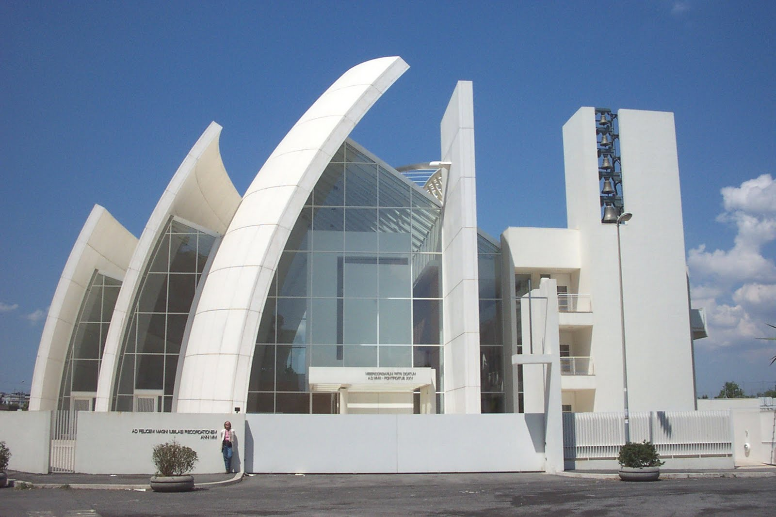 Jubilee church the significant example of modern for Jubilee parish