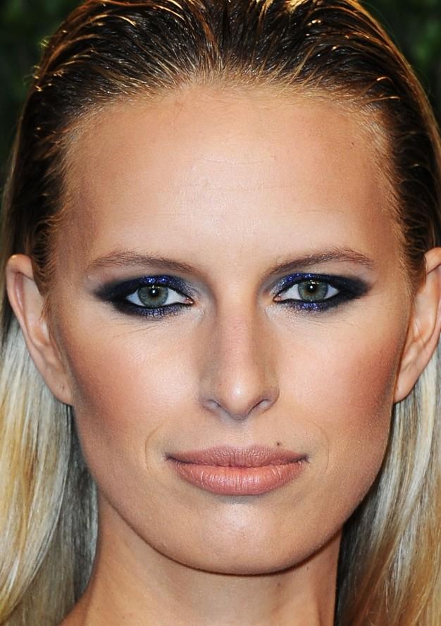 Karolina Kurkova maquilhagem pos oscares, oscars party makeup 2013