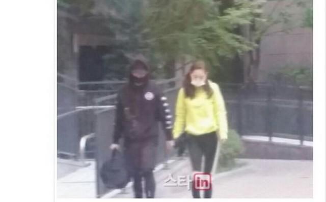 kencan Taeyang dan Min Hyo RIn