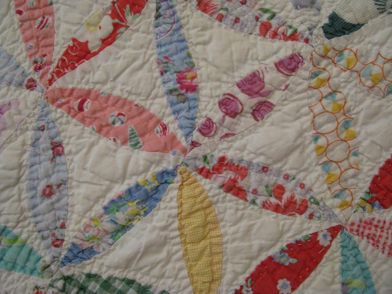 Collector With A Needle: Jacobs or Josephs Coat Vintage Quilt ... : vintage quilts - Adamdwight.com