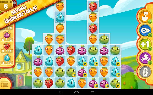 Farm Heroes Saga Android Apk Oyun resimi 7