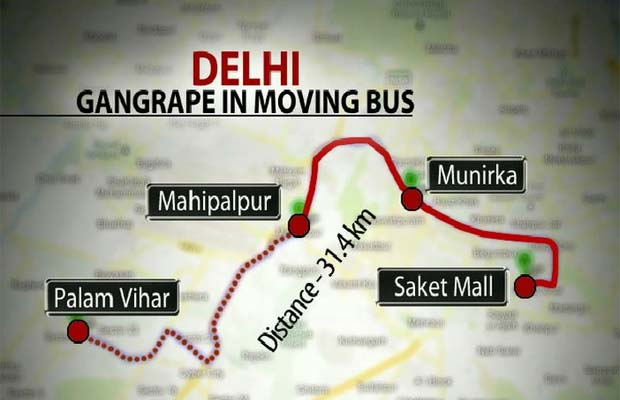 Bus Damini Raped