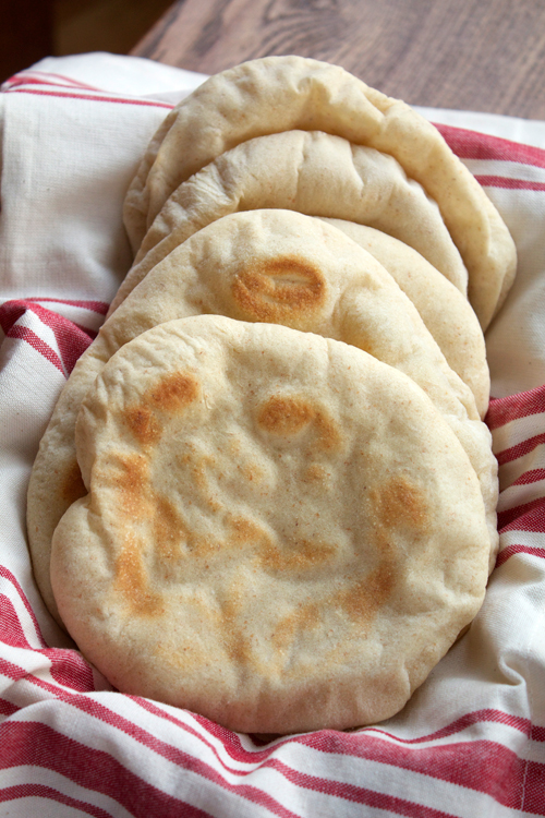 Pita Bread || A Less Processed Life