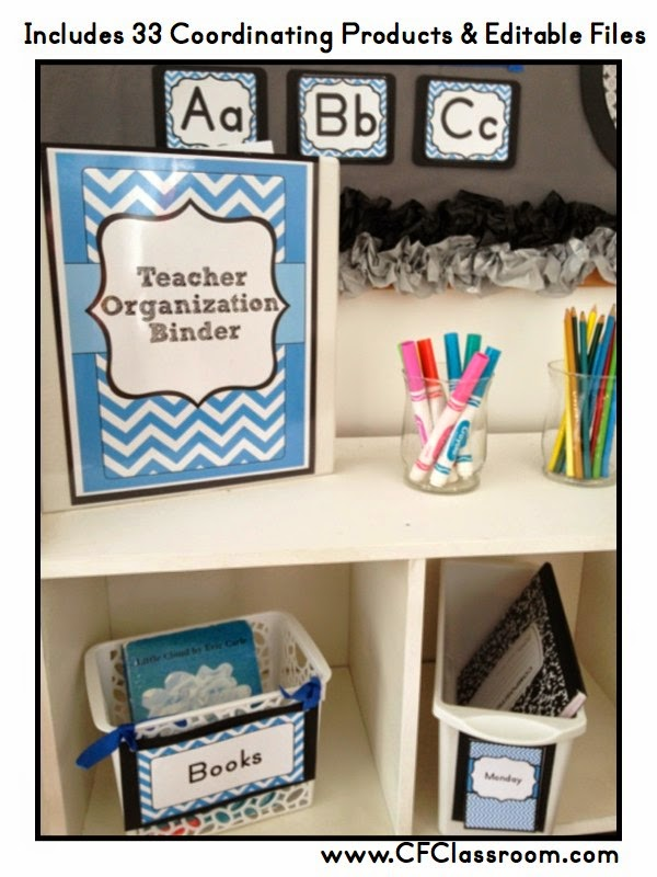 Clutter - Free Classroom Decor Color Scheme Printables Design Decorations Set-Up Patterns Organized Organization Bulletin Boards Back to School Name tags Deskplates Editable polka dots chevron red orange yellow green blue purple hot pink aqua lime black grey gray white stripes theme supply labels behavior clip chart schedule cards numbers calendar clock helper teacher binder lesson plans alphabet ten frames word wall basket labels table team work dismissal chart cards where are we specialists welcome pennant clip art math resources bookmarks hall passes  school day tracker math focus wall colors days of the week tooth tally binder cover newsletter