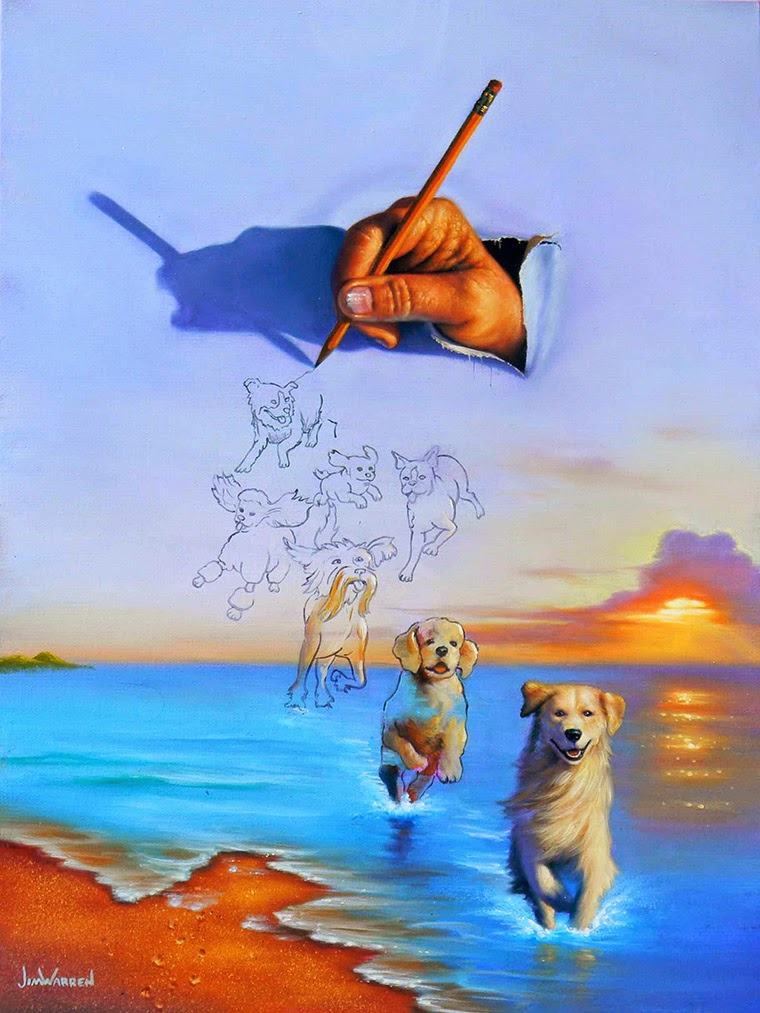 02-Canine-Creations-Jim-Warren-The-Surreal-Art-of-Dreams-www-designstack-co