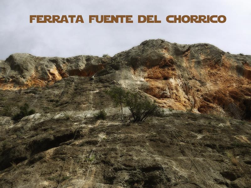 Ferrata Fuente del Chorrico en Tous