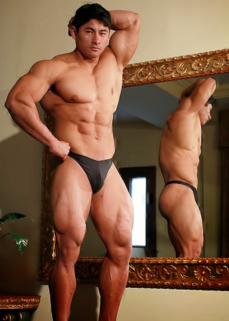 Male bodybuilders asian naked