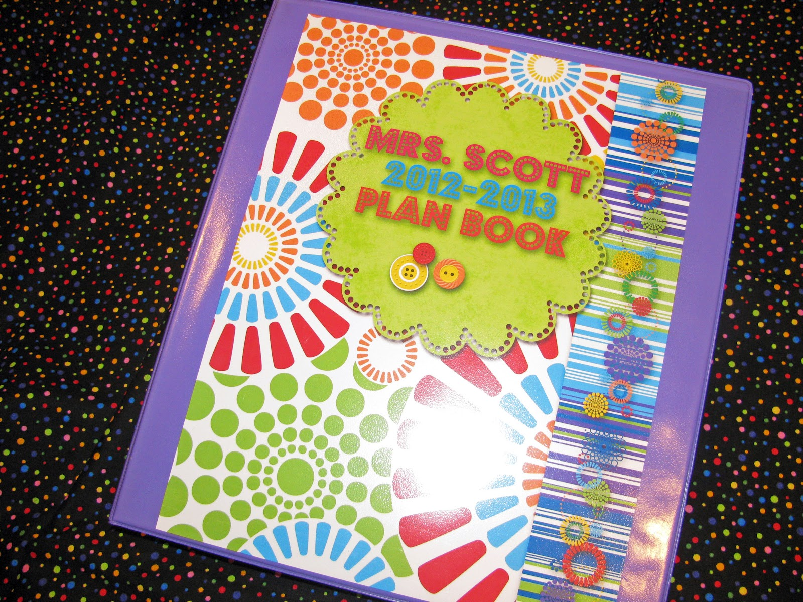 Controlling My Chaos Customized Plan Book And Grade Book
