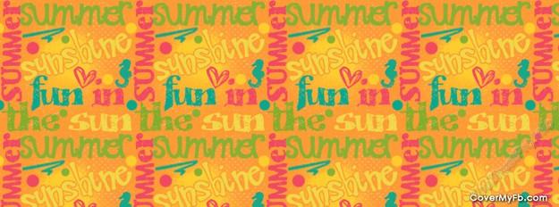 Cover Face Book về chủ đề mùa hè