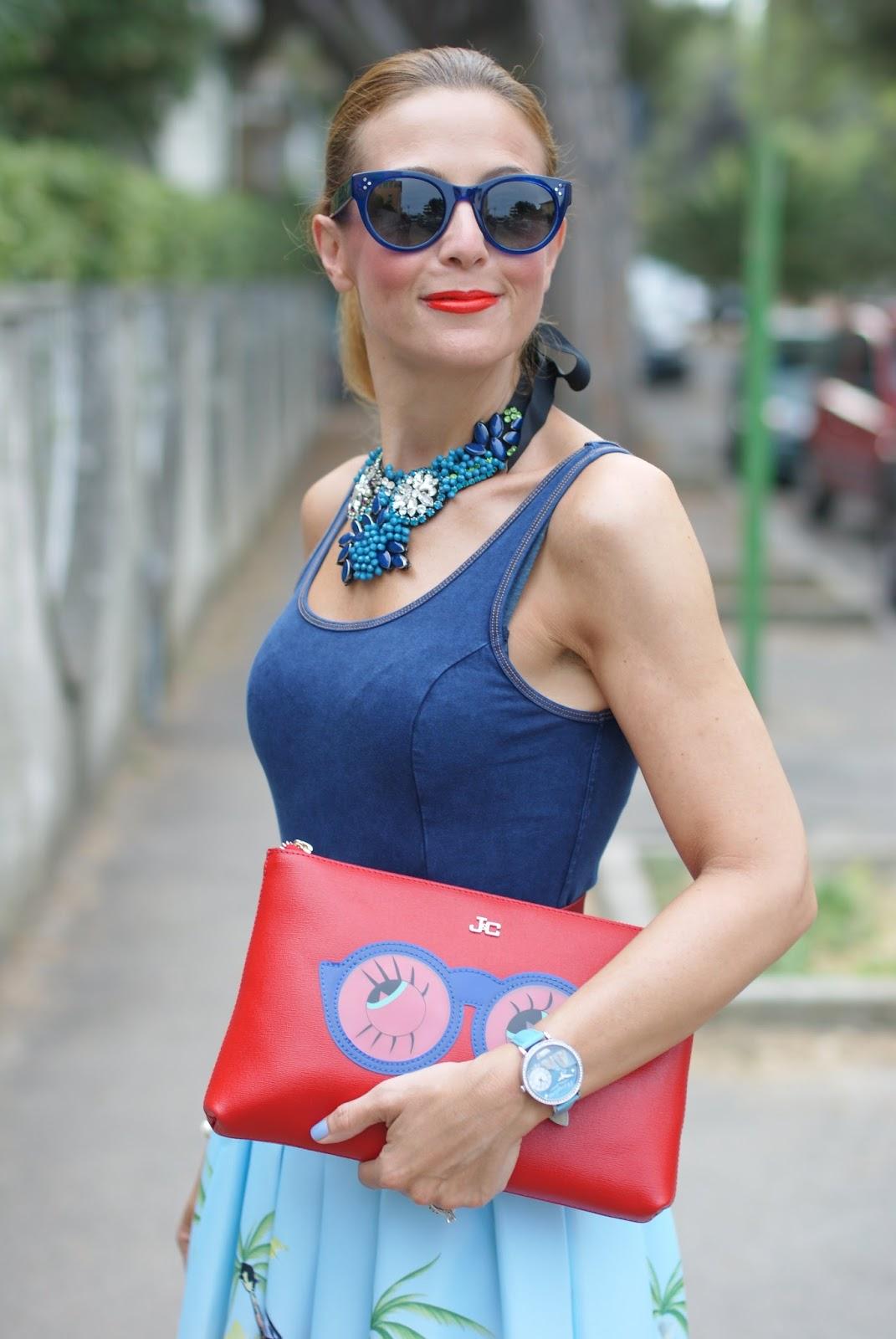 Hype Glasses and SimonaB Bijoux on Fashion and Cookies fashion blog