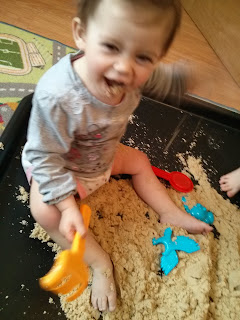 tasting sand