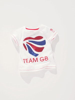 Next children clothes, team GB, short sleeve top