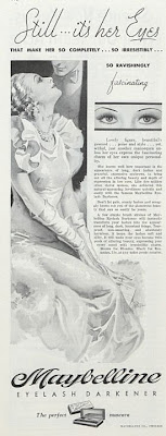 Maybelline 1933 advert