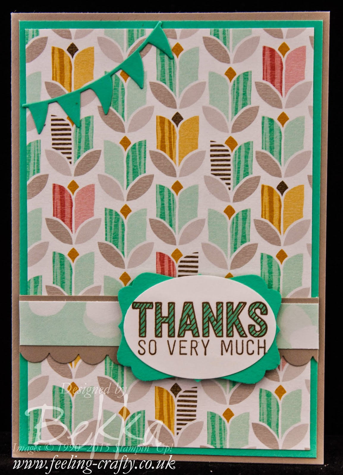 Simply Wonderful Thank You Cards - Check this blog for lots of cute ideas