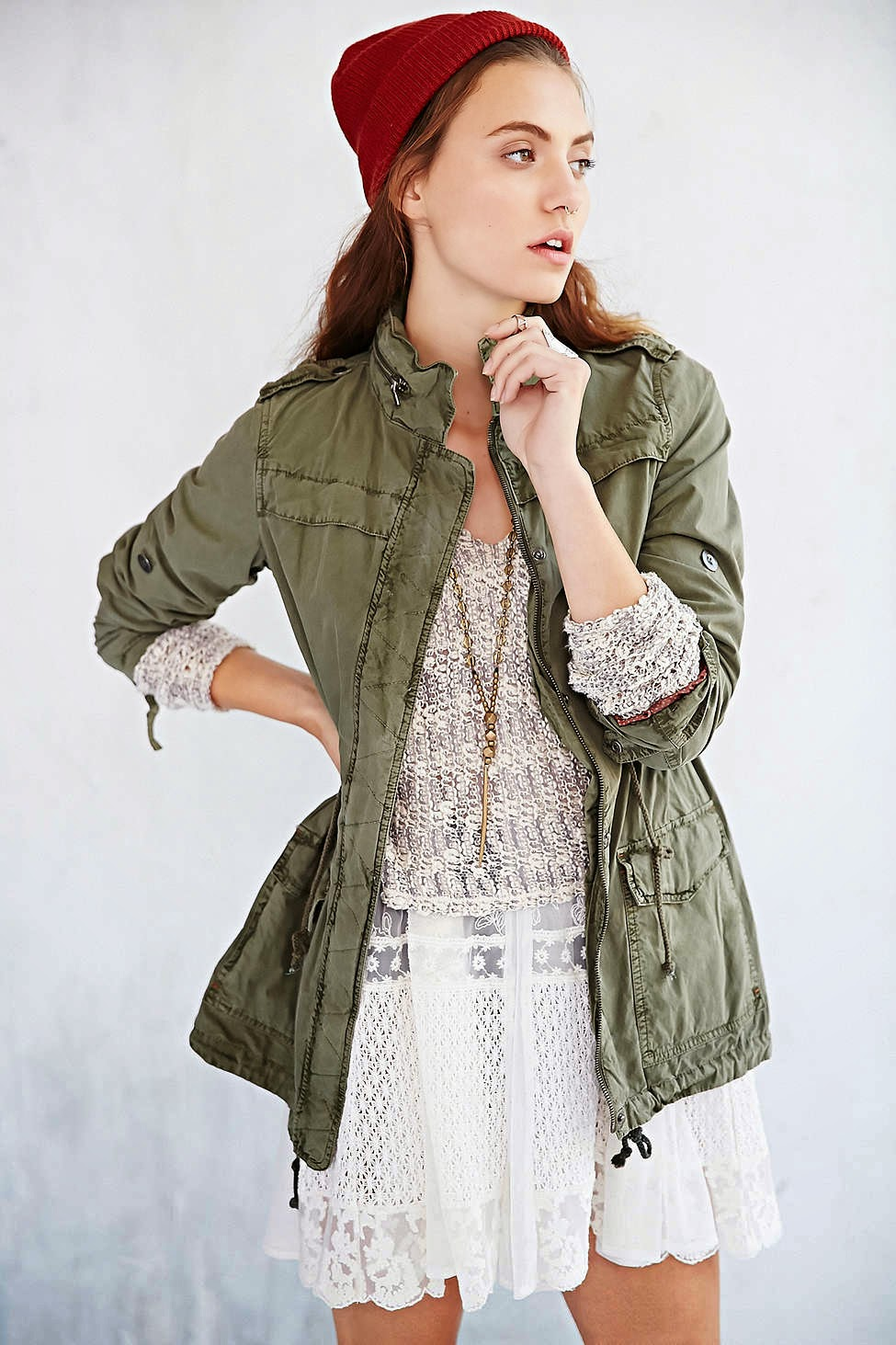 Levis green army jacket, Levi cargo green parka, Urban Outfitters army coat for fall, best green army jacket 2014