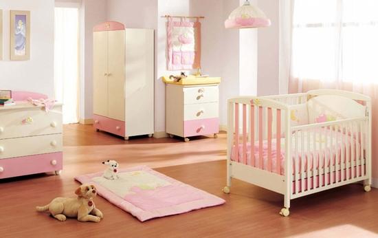 Habitaci n de beb color rosa dormitorios con estilo - Ideas habitaciones bebe ...