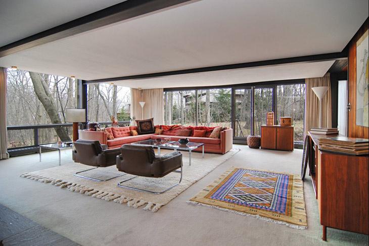 Mid Century Chic Elegant Home In Illinois Interiors