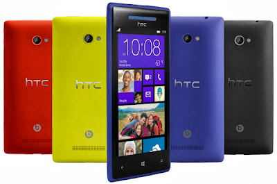 Harga HTC Windows Phone 8X Oktober 2013 dan Spesifikasi