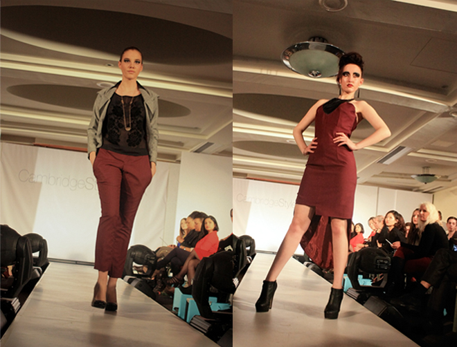 Cambridge Style Week student designs pu detail