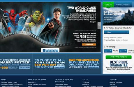 Universal Studios, entradas, Orlando