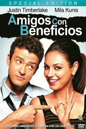 Imagen Amigos con Beneficios DVDRip Latino
