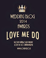 Palomiehen morsian on Love Me Do Wedding Blog Awards -finaalissa!