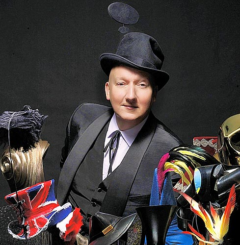 KarinsFairytale: My Mad Hatter : Stephen Jones (milliner)