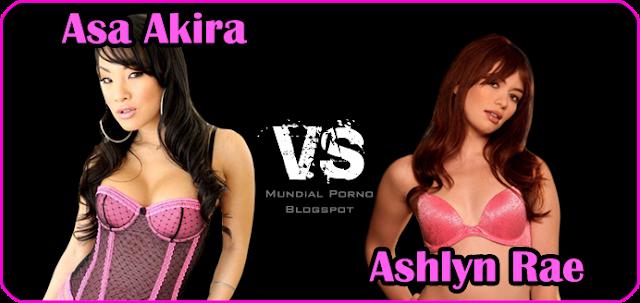 Asa Akira vs Ashlyn Rae