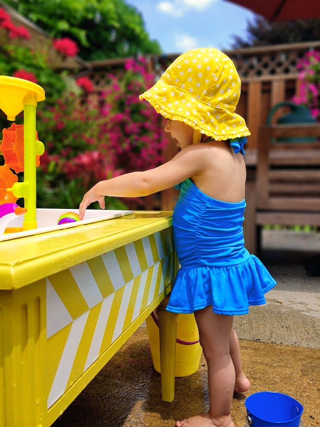 Diy water table a lovely lark 2