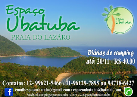Reservas para o Fim de Ano / Reveillon Camping Espaço Ubatuba