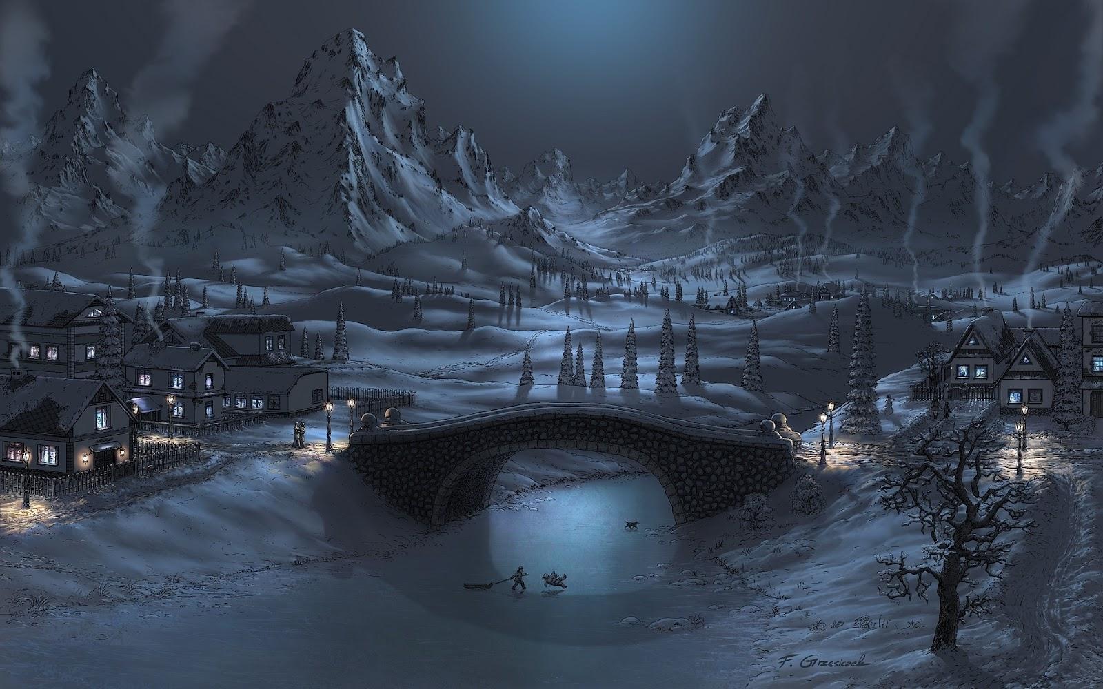 Paisajes de Invierno - 10 - Fondos de Pantalla HD - Wallpapers HD