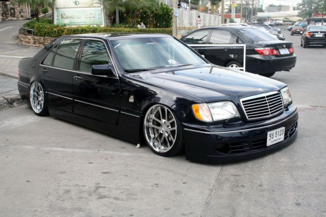Mercedes benz w140 vip style benztuning for Mercedes benz styles