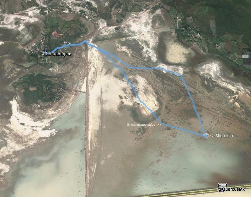 Ruta Tehuantepec - Microisla de Sayula