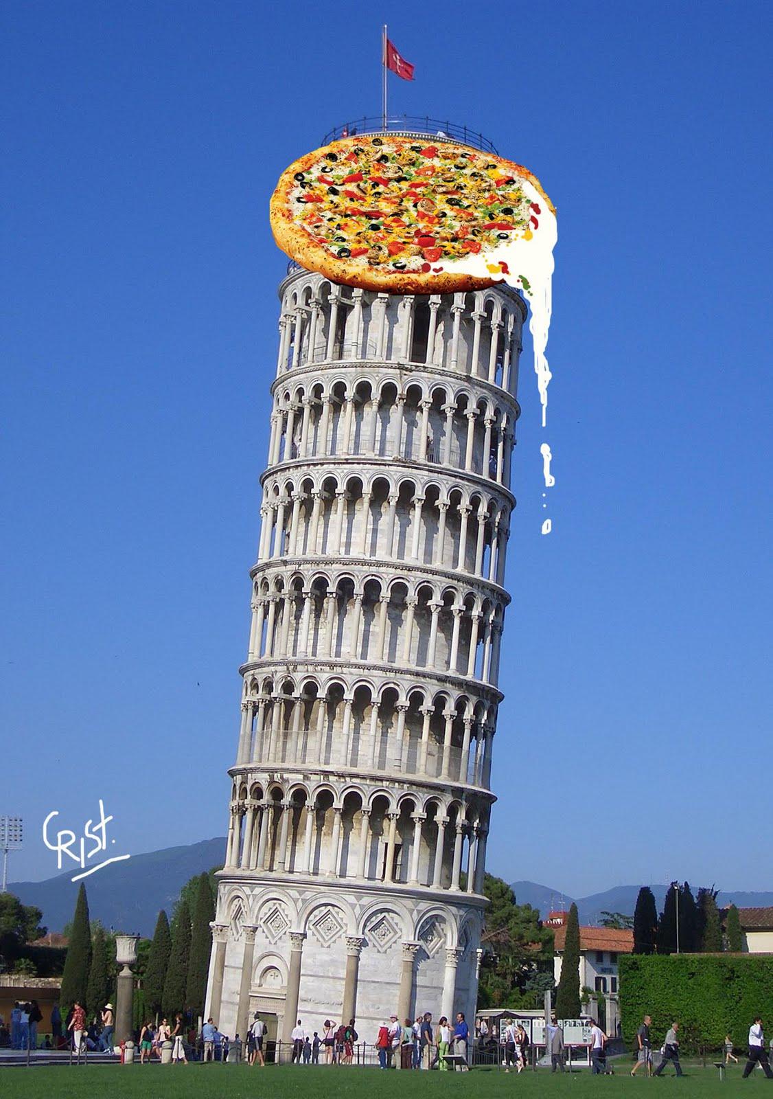 cosmoscrist  torre de pizza
