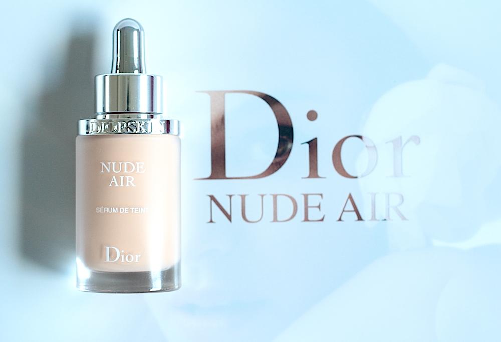 dior diorskin nude air sérum de teint avis test avant après