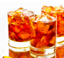 te amb gel un coctel sense alcohol