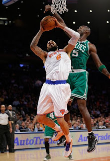 Tyson Chandler and Kevin Garnett