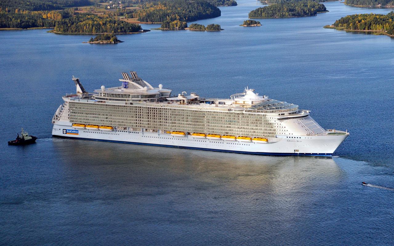 Revista Cruzeiros: Maior navio de cruzeiros, na Europa, em ... Oasis Of The Seas