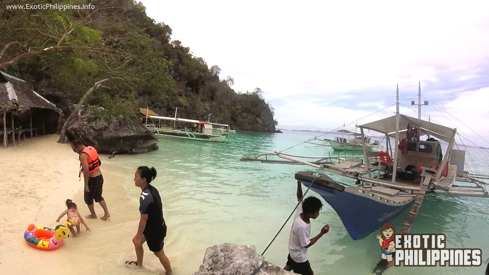 Exploring the Banol Beach in Coron Palawan Exotic Philippines Travel Blogger and Blog