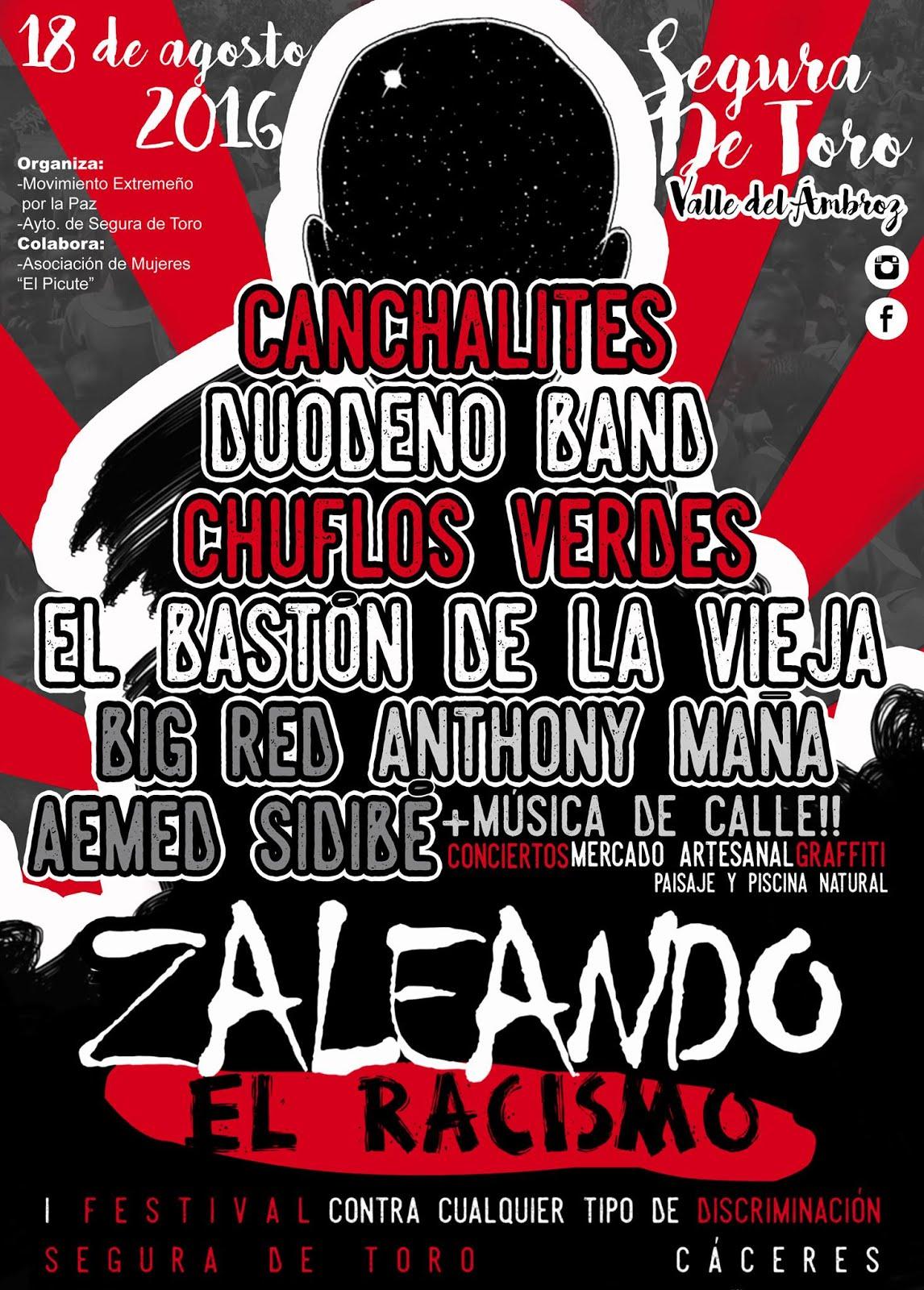 "I FESTIVAL ""ZALEANDO EL RACISMO"""