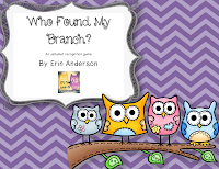 http://www.teacherspayteachers.com/Product/Who-found-my-branch-A-letter-recognition-freebie-832414