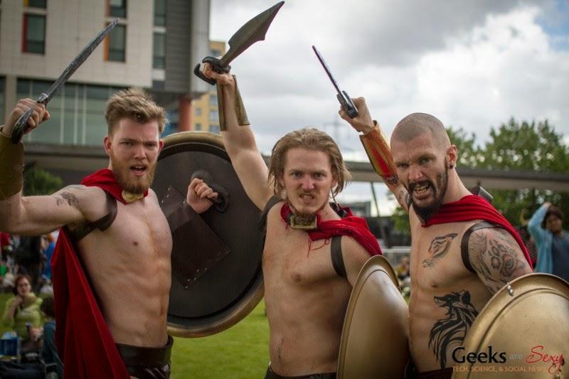 Гладиаторы Древнего Рима (косплей 2014)