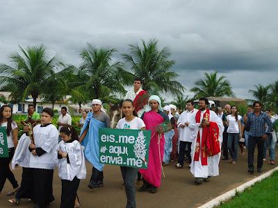 JM participa das atividades da Semana Santa em Figueirópolis/TO